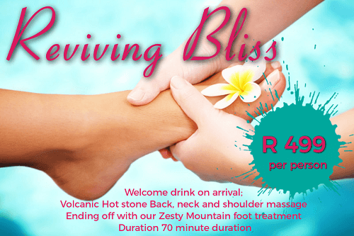 Reviving bliss Bushmans rock spa