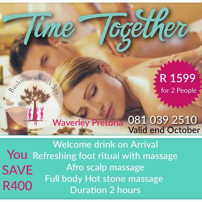 Time together spa special